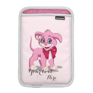 Heart Nose Pink Puppy Cartoon iPad Mini Sleeve