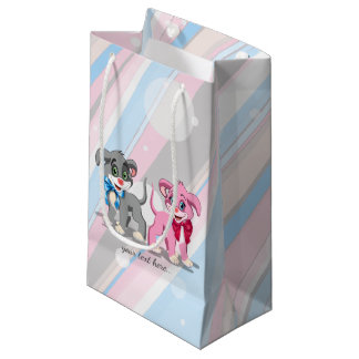 Heart Nose Puppies Cartoon Small Gift Bag