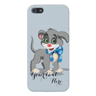 Heart Nose Puppy Cartoon iPhone 5 Case