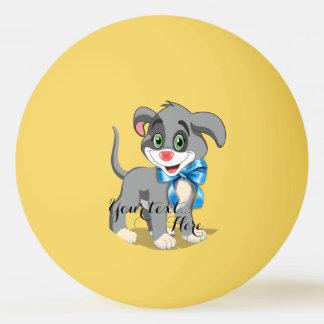 Heart Nose Puppy Cartoon Ping Pong Ball