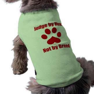 Heart Not Breed Pet Tee Shirt