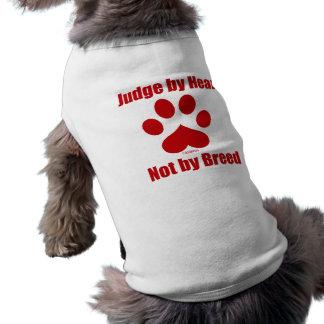 Heart Not Breed Doggie Shirt