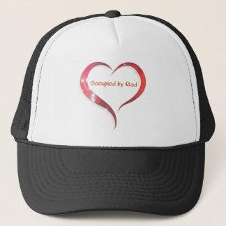 Heart Occupied by God Trucker Hat