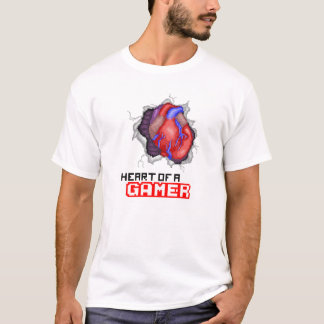 Heart Of A Gamer T-Shirt
