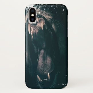 Heart of a Lion! (Grungy Look) iPhone X Case