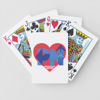 Heart of a Pantsuit Nation Bicycle Playing Cards