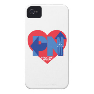 Heart of a Pantsuit Nation iPhone 4 Cases