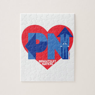 Heart of a Pantsuit Nation Jigsaw Puzzle