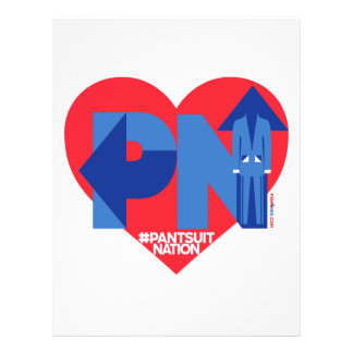 Heart of a Pantsuit Nation Letterhead
