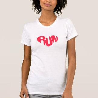 Heart of a Runner - Women's Racerback T-Shirt