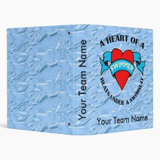 Heart of a Swimmer Binder