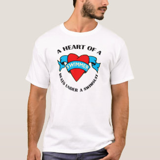 Heart of a Swimmer T-Shirt