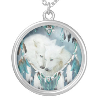 Heart Of A Wolf Wearable Art Necklace