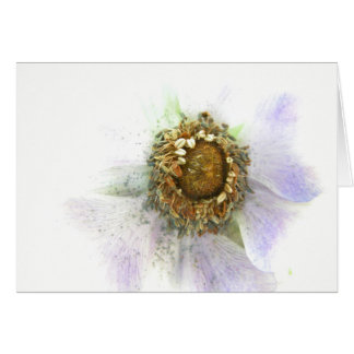 Heart of an Anemone Card