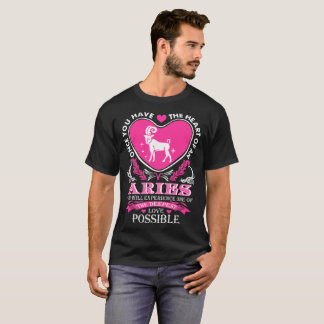 Heart Of An Aries Deepest Love Possible Tshirt