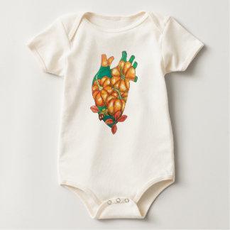 heart of autumn baby bodysuit