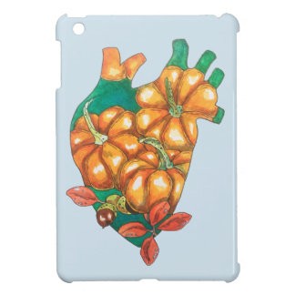 heart of autumn iPad mini cases