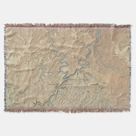Heart of Canyonlands (Utah) throw blanket