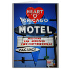 Heart of Chicago Motel Card
