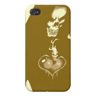 Heart Of Darkness Covers For iPhone 4