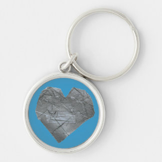 Heart of Duct Tape Key Chain