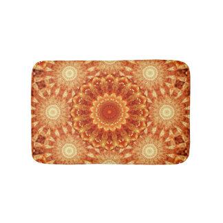 Heart of Fire Mandala Bathroom Mat
