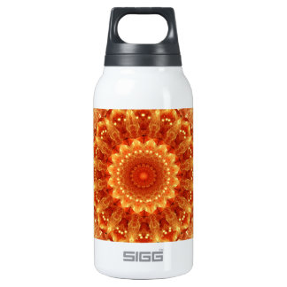 Heart of Fire Mandala Insulated Water Bottle