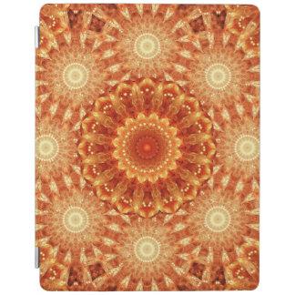 Heart of Fire Mandala iPad Cover