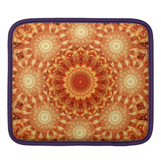 Heart of Fire Mandala iPad Sleeve