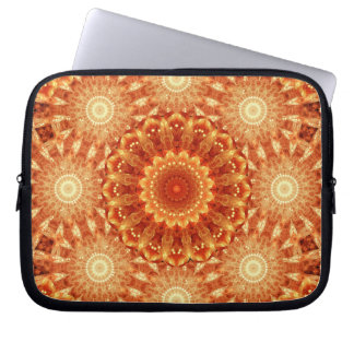 Heart of Fire Mandala Laptop Sleeves