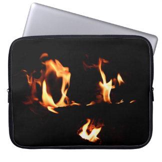 heart of firee laptop sleeve