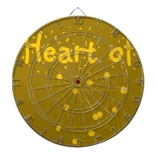 heart of gold dartboard