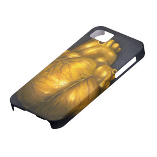 Heart Of Gold - iPhone 5 Protective Case
