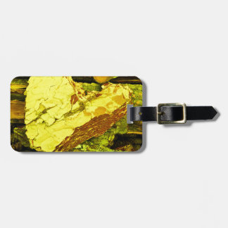 heart of gold luggage tag