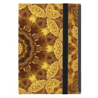 Heart of Gold Mandala Cases For iPad Mini