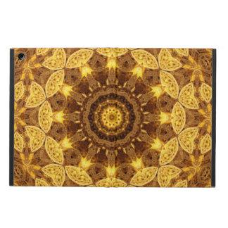 Heart of Gold Mandala Cover For iPad Air