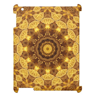 Heart of Gold Mandala Cover For The iPad 2 3 4