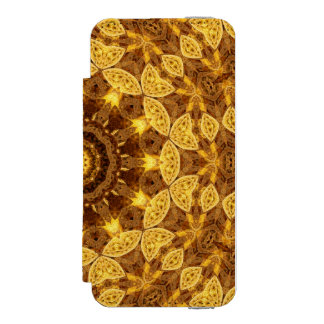 Heart of Gold Mandala Incipio Watson™ iPhone 5 Wallet Case
