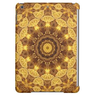 Heart of Gold Mandala iPad Air Cases