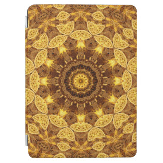 Heart of Gold Mandala iPad Air Cover