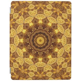 Heart of Gold Mandala iPad Cover