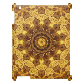 Heart of Gold Mandala iPad Covers