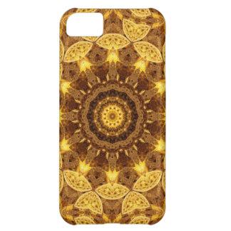 Heart of Gold Mandala iPhone 5C Covers