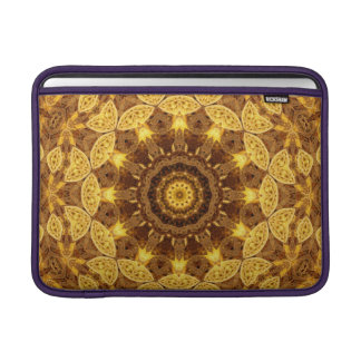 Heart of Gold Mandala Sleeve For MacBook Air