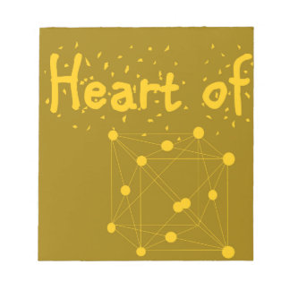 heart of gold notepad