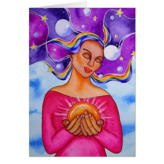 Heart of Healing by Rita Loyd Card