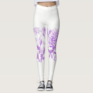Heart of Herbs Herbal School Botanical Leggings