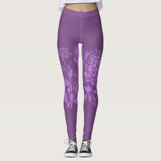 Heart of Herbs Herbal School Leggings