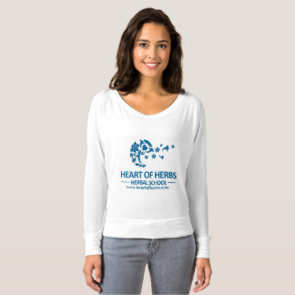 Heart of Herbs Herbal School Logo Gear- Flowy Top