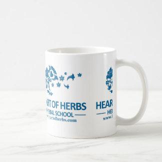 Heart of Herbs Herbal School Mug